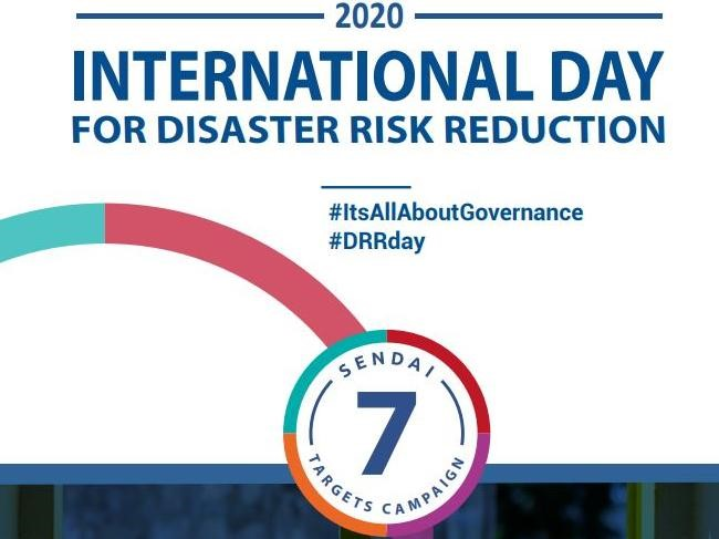 International Day for Disaster Risk Reduction #DRRday